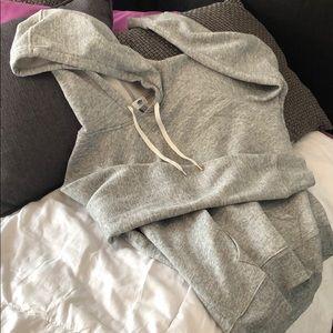 Large gray Old Navy hoodie